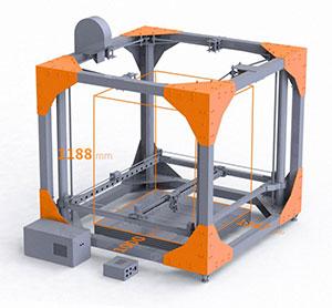 3D Printer Big Rep One