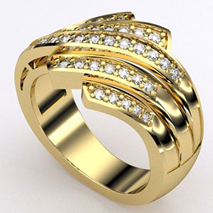 3D Printing 3D Printed ring