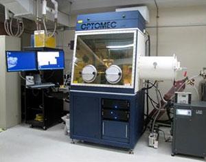 3D Printing optomec lens