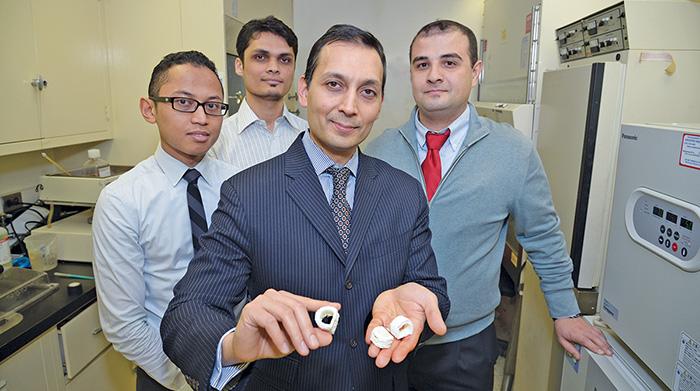 Dr. Faiz Bhora & team 3D Printing