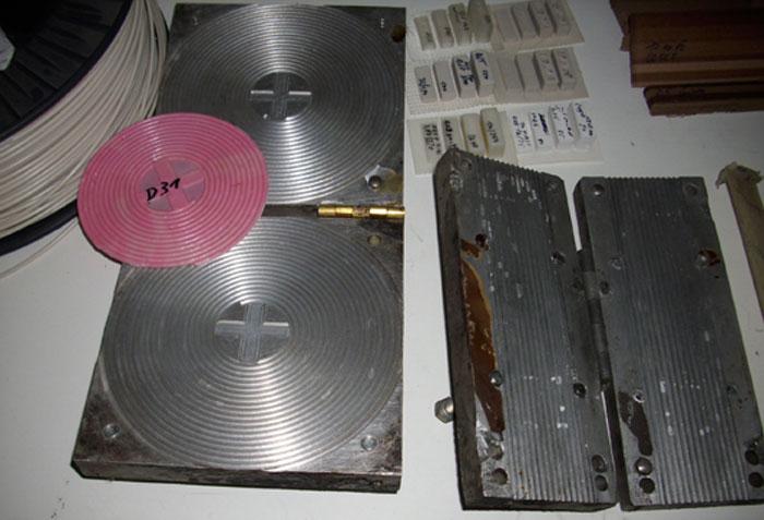 Filament press stangen rund 3D Printing