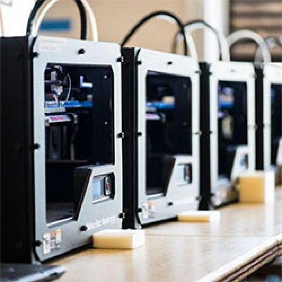 Makerbot 3D Printer Factory Education