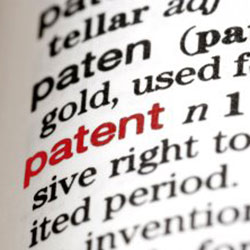 Patent defintion 3d printing