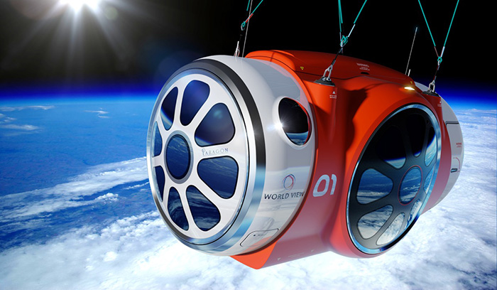World View Experience 3D Printing Space Capsule