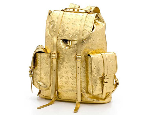 billionaire boys club gold backpack 3D printing