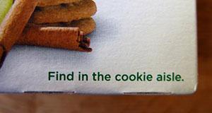 cookie aisle Belvita 3D Printing
