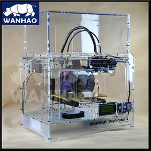 duplicator 4x wanhao 3d multifunction printer