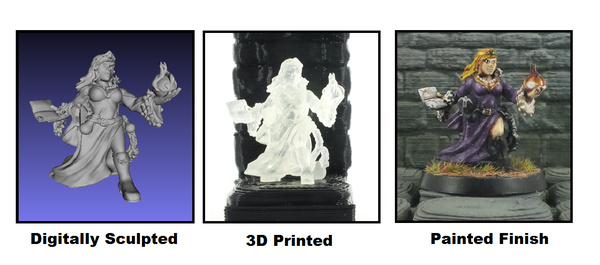 3D Printed Hyper-Personalized Miniatures - 3D Printing Industry