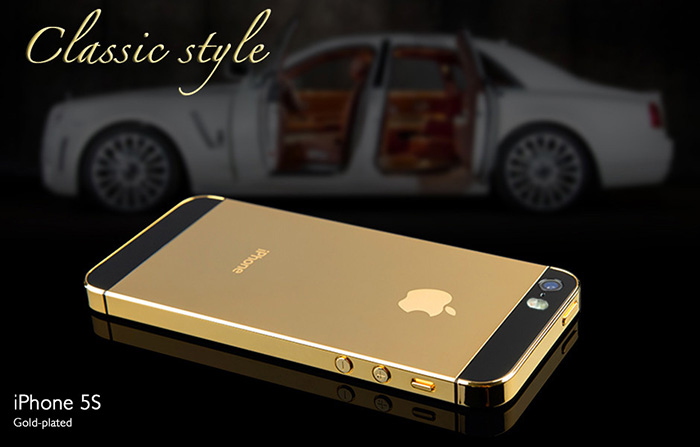 golden iPhone 5s cover 3D Printed 3D Printing