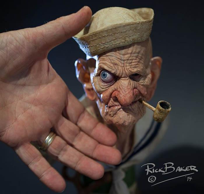 Hollywood Legend 3D Printing Popeye