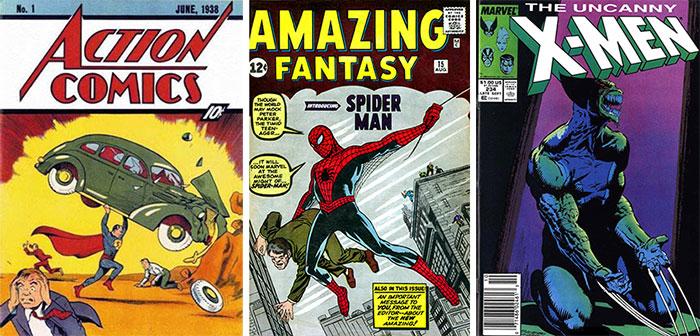 3D Printing Comic Covers