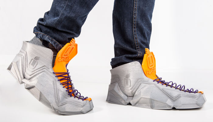 3d printed filaflex shoes