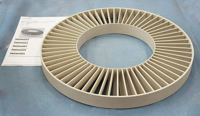 3D printed wheel voxeljet
