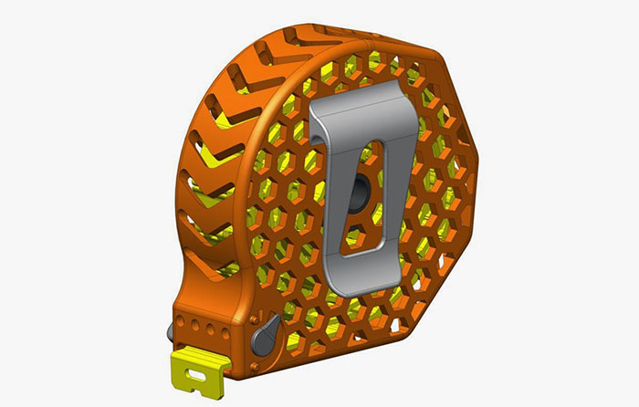 3d printed tape measure CAD