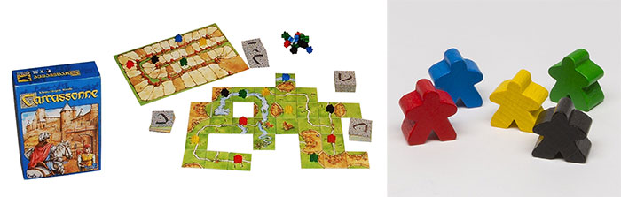 3d printing Carcassonne game