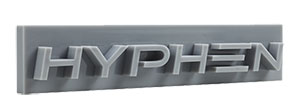 3d printing hyphen