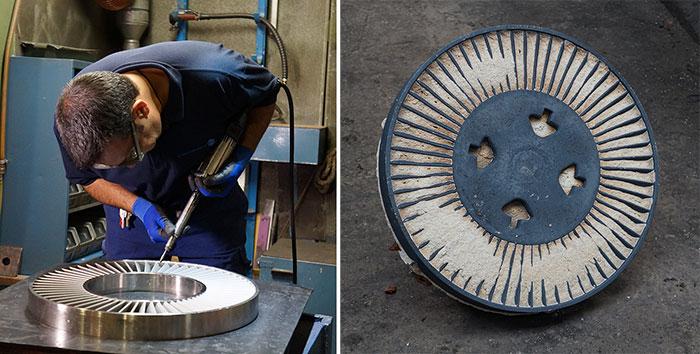 Post process raw casting 3d printing