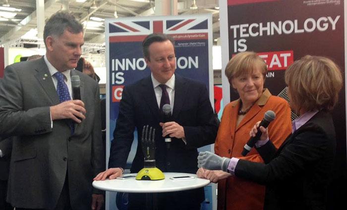 UK Prime Minister David Cameron Angela Merkel UKTI Innovation