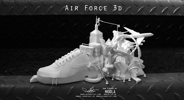 air force 3D printing