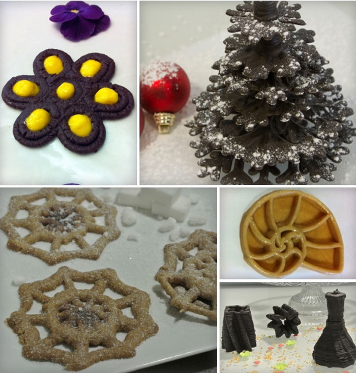 3D Printing Food foodini 3D Printer