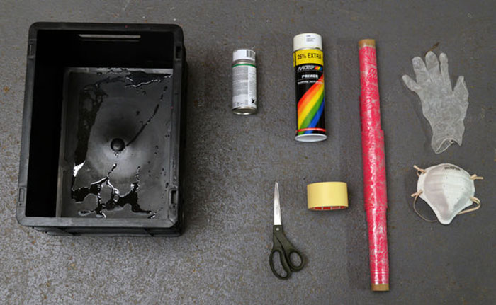 hydrographic kit LeFabShop 3D Printing