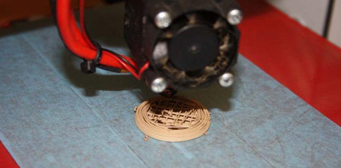 reprap universe 3D Printing ceramic Filament