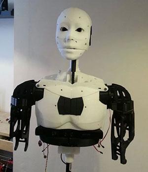 robot 3d printed MARC