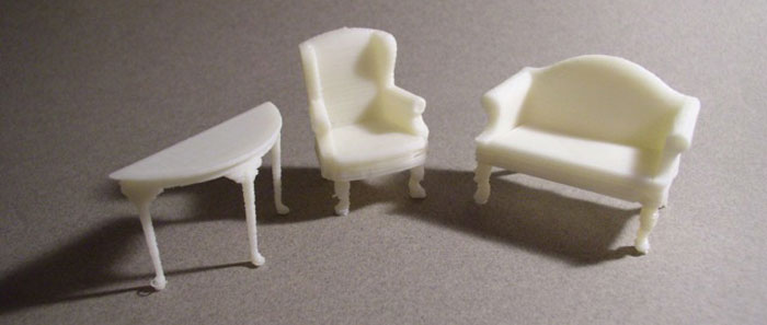 set pieces 3D Printing