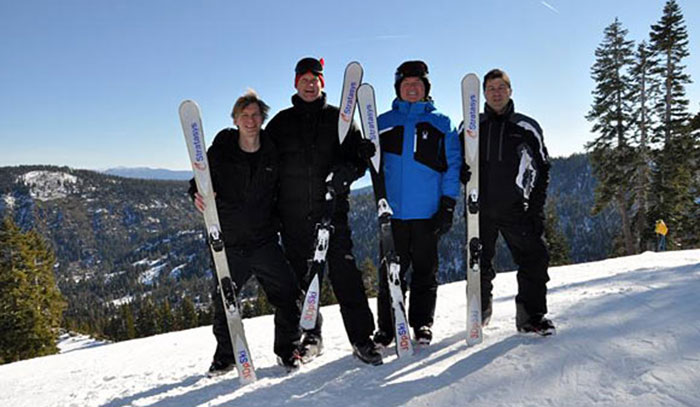 skis group 3D Printing Stratasys