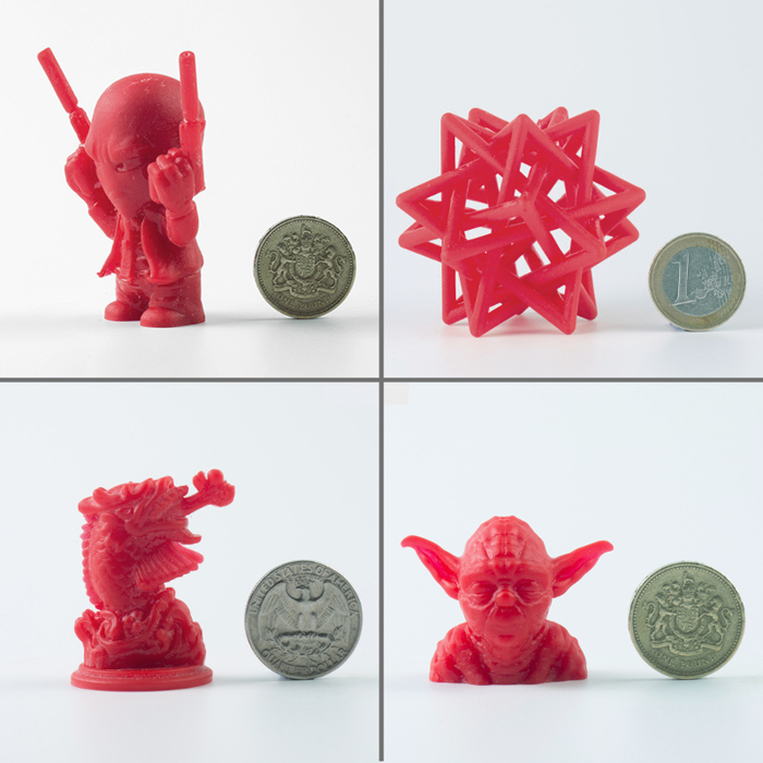 Stalactite 102 DLP 3D Printer Prints