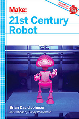 21st century Robot 3D Printing cover