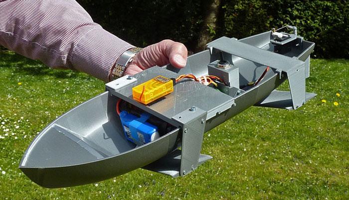 DIYRc+Boat+Hull Two Hulls on a 3D Printed RC Boat - 3D Printing ...
