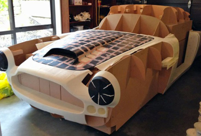 3d printed car body