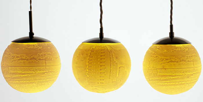 Beth Lewis Williams 3D Printed Lamps