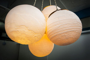 Beth Lewis Williams 3D Printed Lights