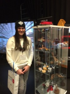 Laura at Envisiontec Stand