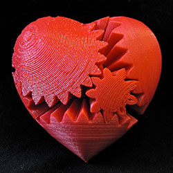 MakerGeek 3D Printing Heart