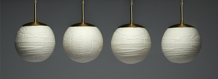 beth lewis williams 3D printed lithophane lamp series