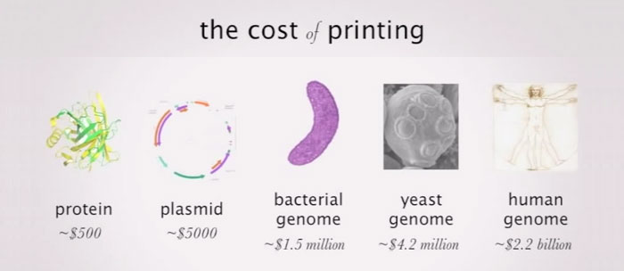 cost of 3d printing