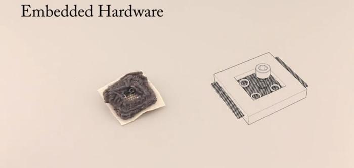 embedded hardware in robobear Disney Research