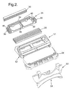 gillette 3D printed razor cartridge patent