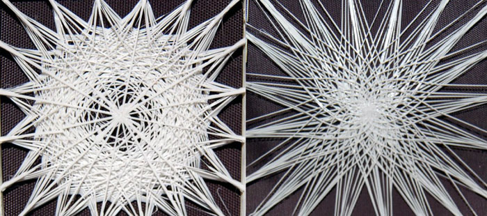 project silkworm weave 3D printed layers