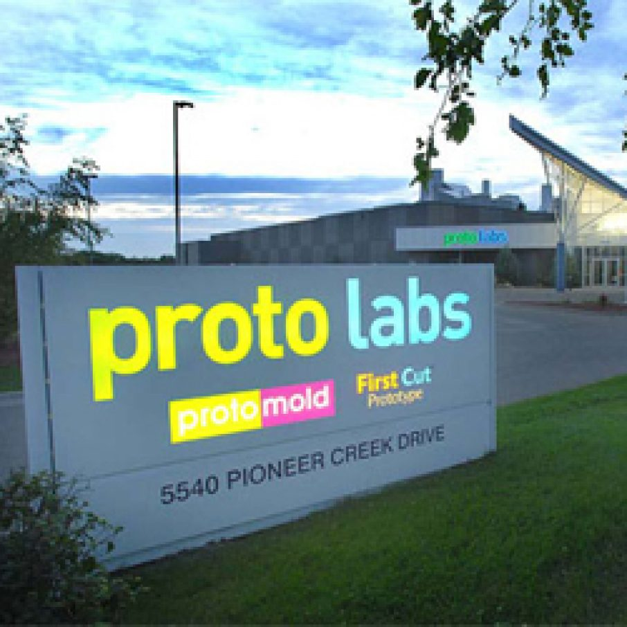 proto labs 3D printing fine line acquisition