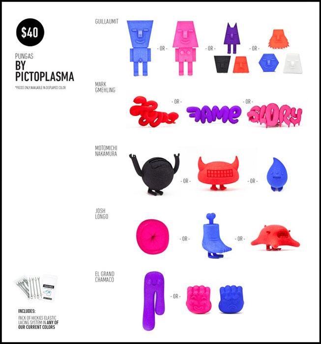 pungas by pictoplasma 3d printing