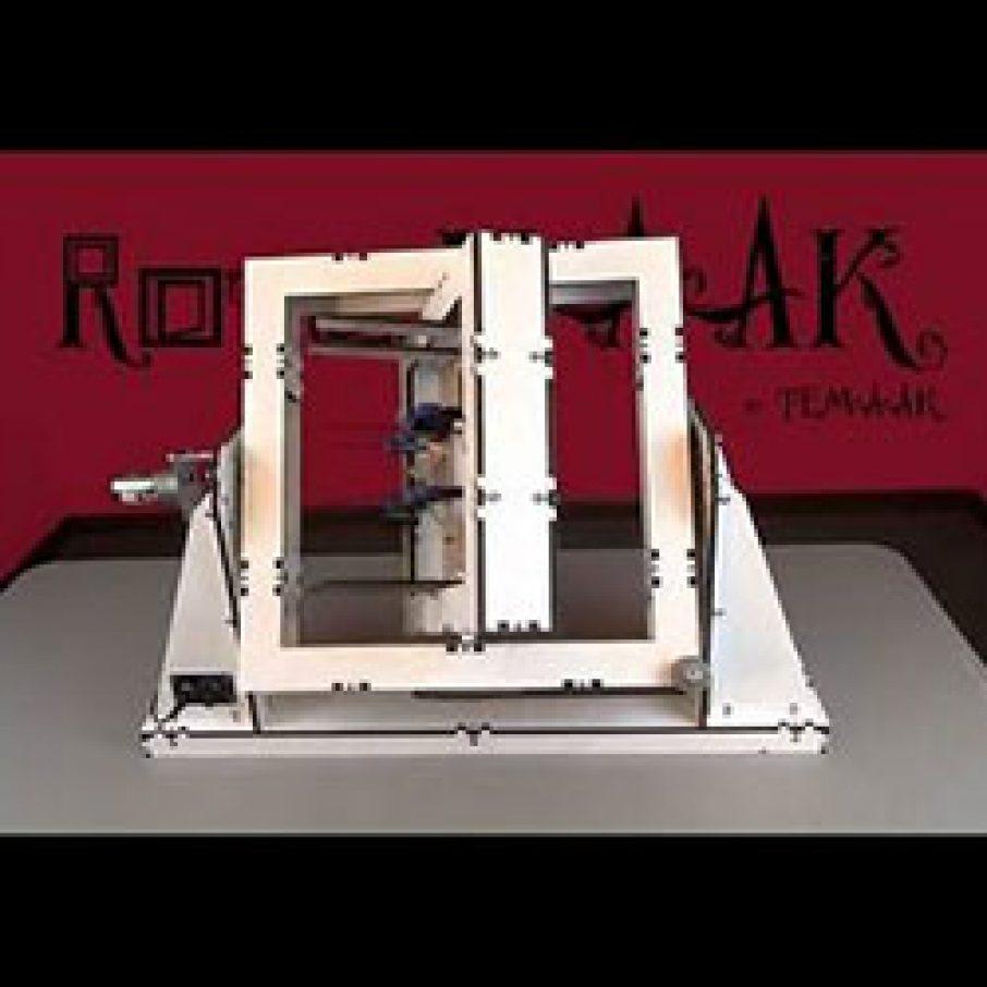 rotoMAAK 3d printer