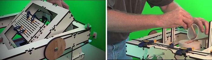 rotomaak pulley resinfill 3d printing