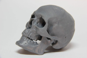 skull makerjuice 3D printing resin for form1