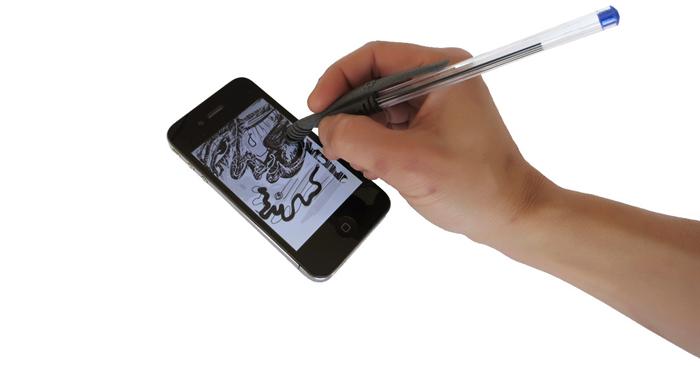 Dragonbite 3D-Printed iPhone Stylus