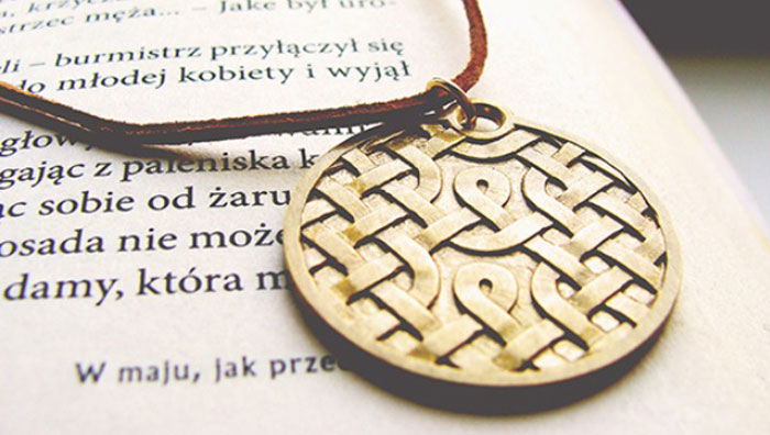3D printed celtic knot imaterialise