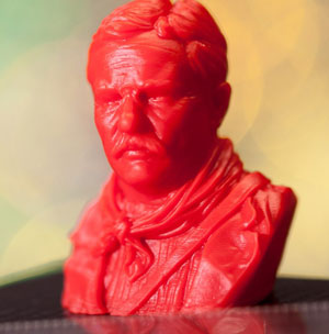 3D printed teddy roosevelt littledlper